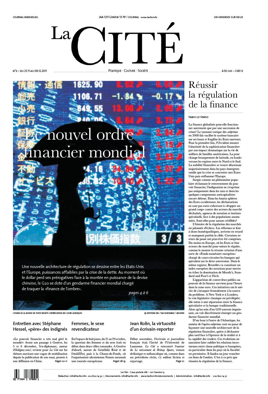 25 novembre 2011 - Édition n° 624 pages