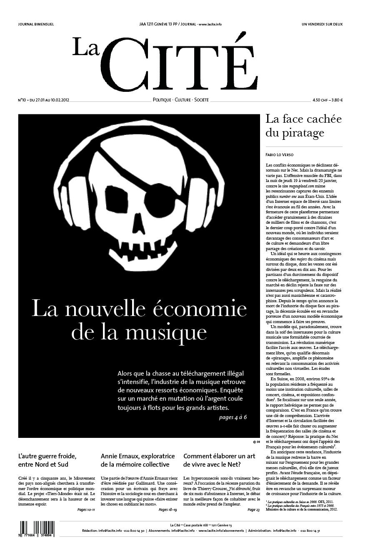 27 janvier 2012 - Édition n° 124 pages