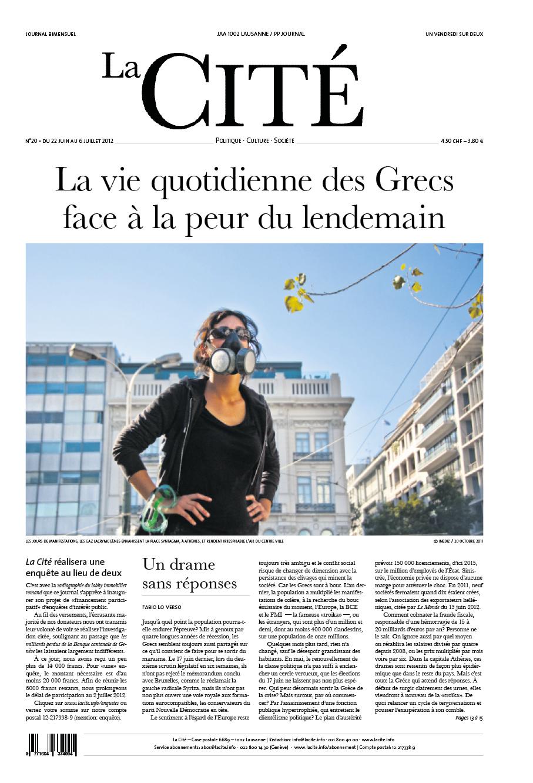 22 juin 2012 - Édition n° 2024 pages