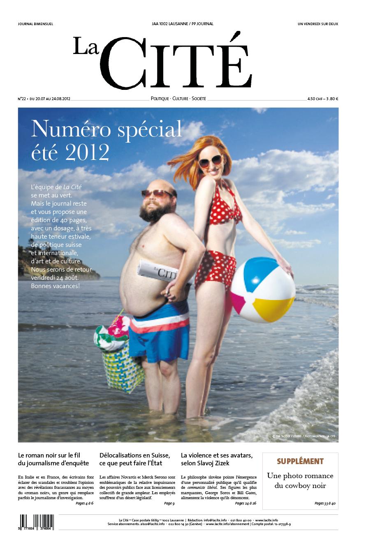 20 juillet 2012 - Édition n° 2224 pages