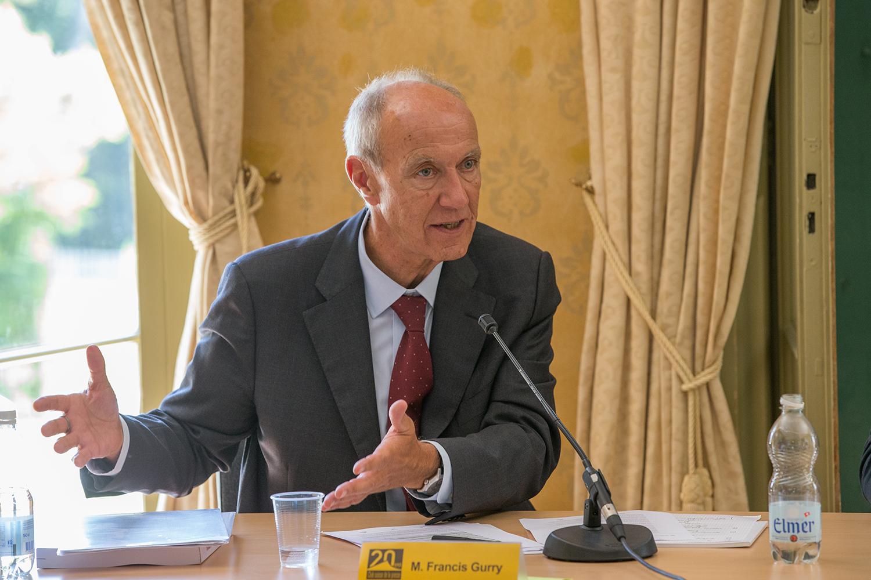 Francis Gurry, directeur général de l'Organisation mondiale de la propriété intellectuelle (OMPI). ©  Emmanuel Berrod / WIPO Media Library / Genève, 6 juillet 2017