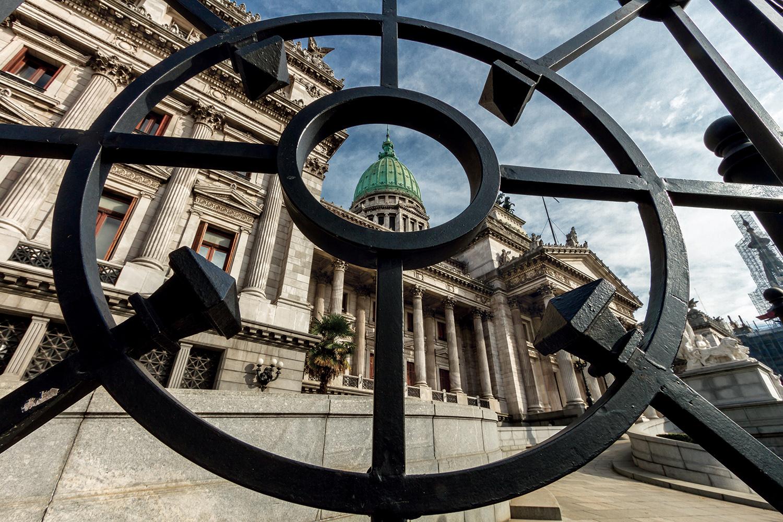 Le palais du Congrès, siège du pouvoir législatif argentin. © Simon Mayer / Buenos Aires / Archives