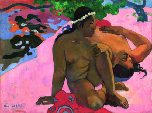 «Eh quoi, tu es jalouse?», Paul Gauguin, 1892. © Courtesy Grand Palais, Paris.