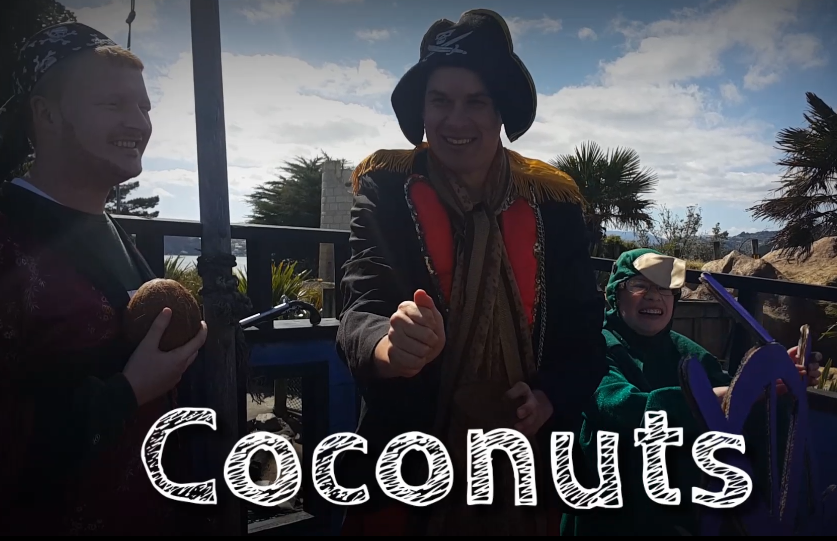 Clip from our trailer Coconuts