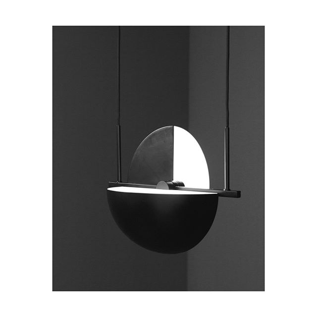 Trapeze | A true artist, an aerialist combining grace and style.  The pendant features an elegant solitary performance yet can be extended to a group by connecting the lamp with one, two or more. Designed with the intention of adding a new dimension to a functional object, interactive construction allows the user to combine uplight and downlight at the same time. The Trapeze pendant is beautifully crafted from steel and opal glass.  _  Featured | Trapeze Pendant designed by Jette Scheib for Oblure.  Oblure is exclusive to Good Form in New Zealand. _ #goodform #oblure #trapeze #swedishdesign #lighting #interiorstyle #interiordesign #object #steel #opalglass