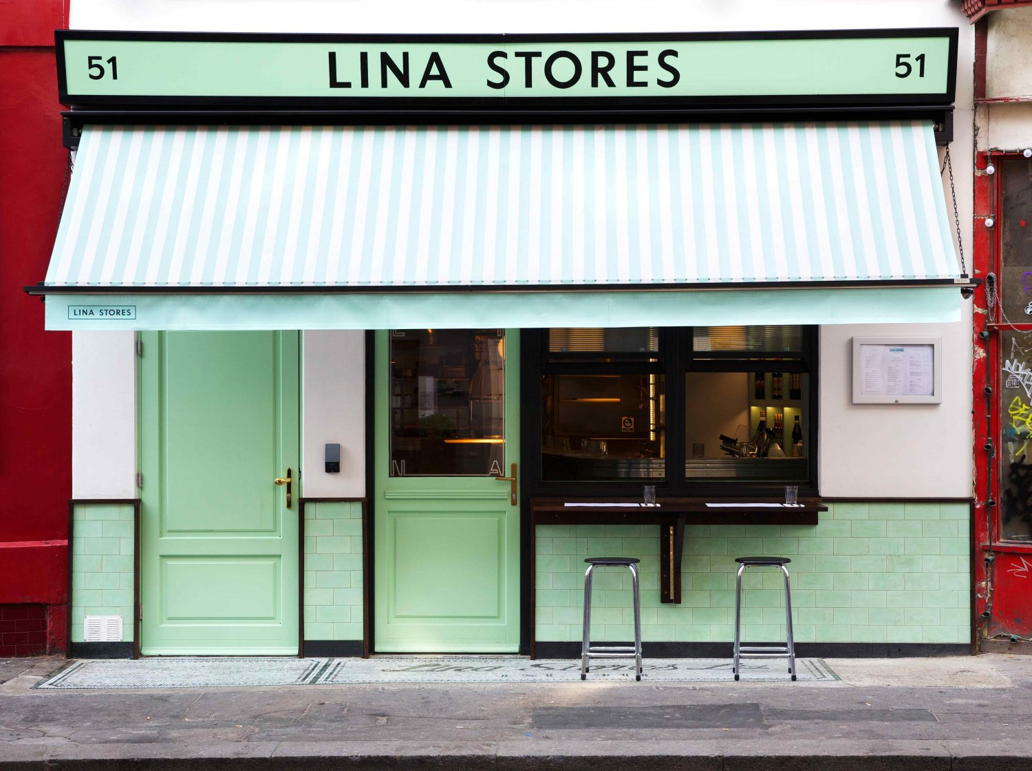 Lina Stores - Iconic Italian Deli in Soho opens its own restaurant in the city, with outdoor seats in the heart of the city