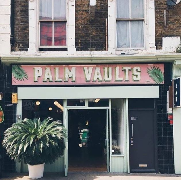 Palm Vaults - A cafe that looks like a little forest, serving a simple but rather yummy veggie menu.