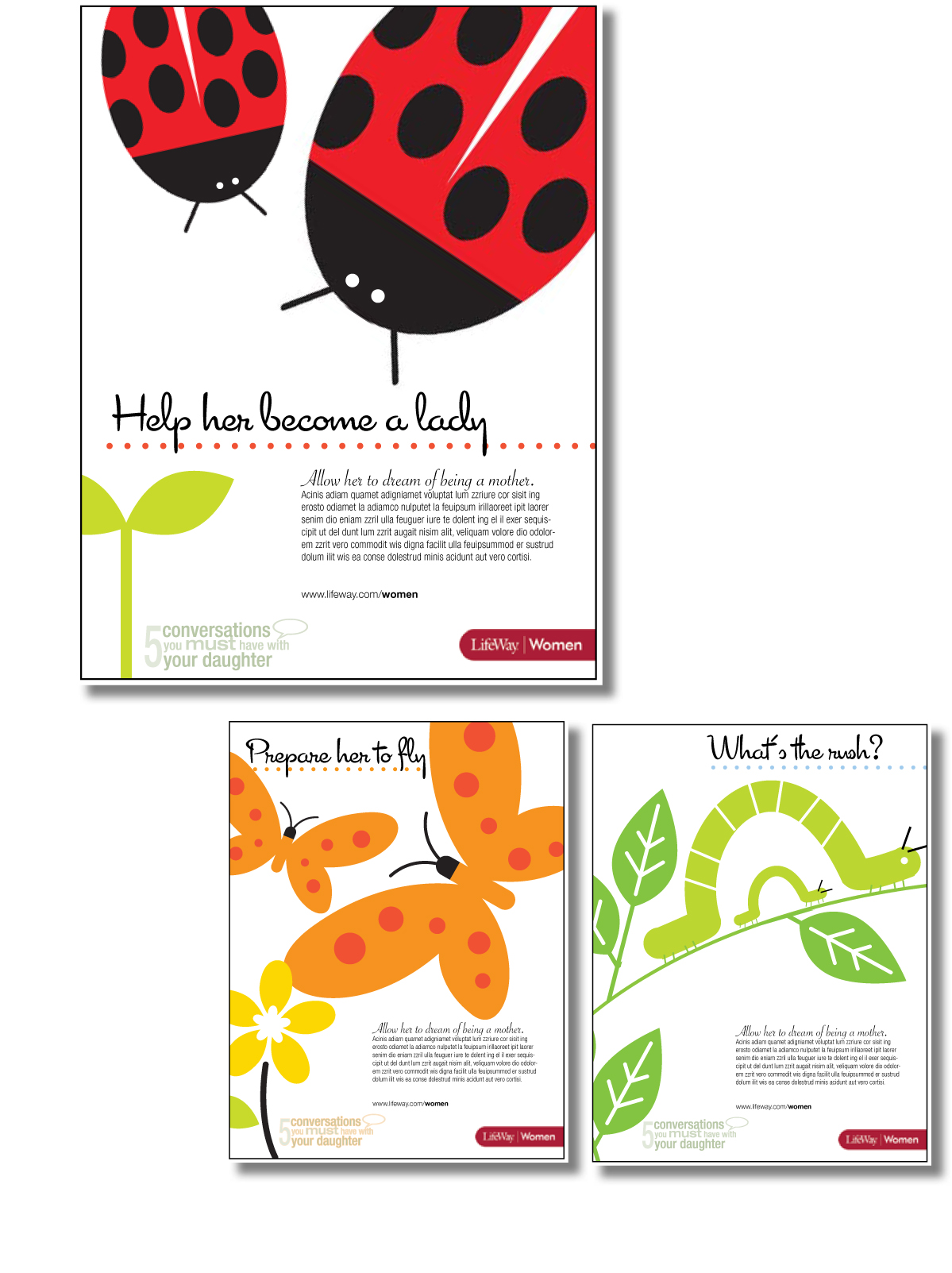 women's ministry branding for daughters