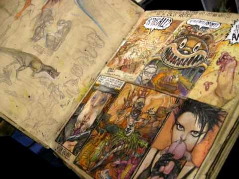 Consider a variety of mediums when creating your sketchbook assignments.