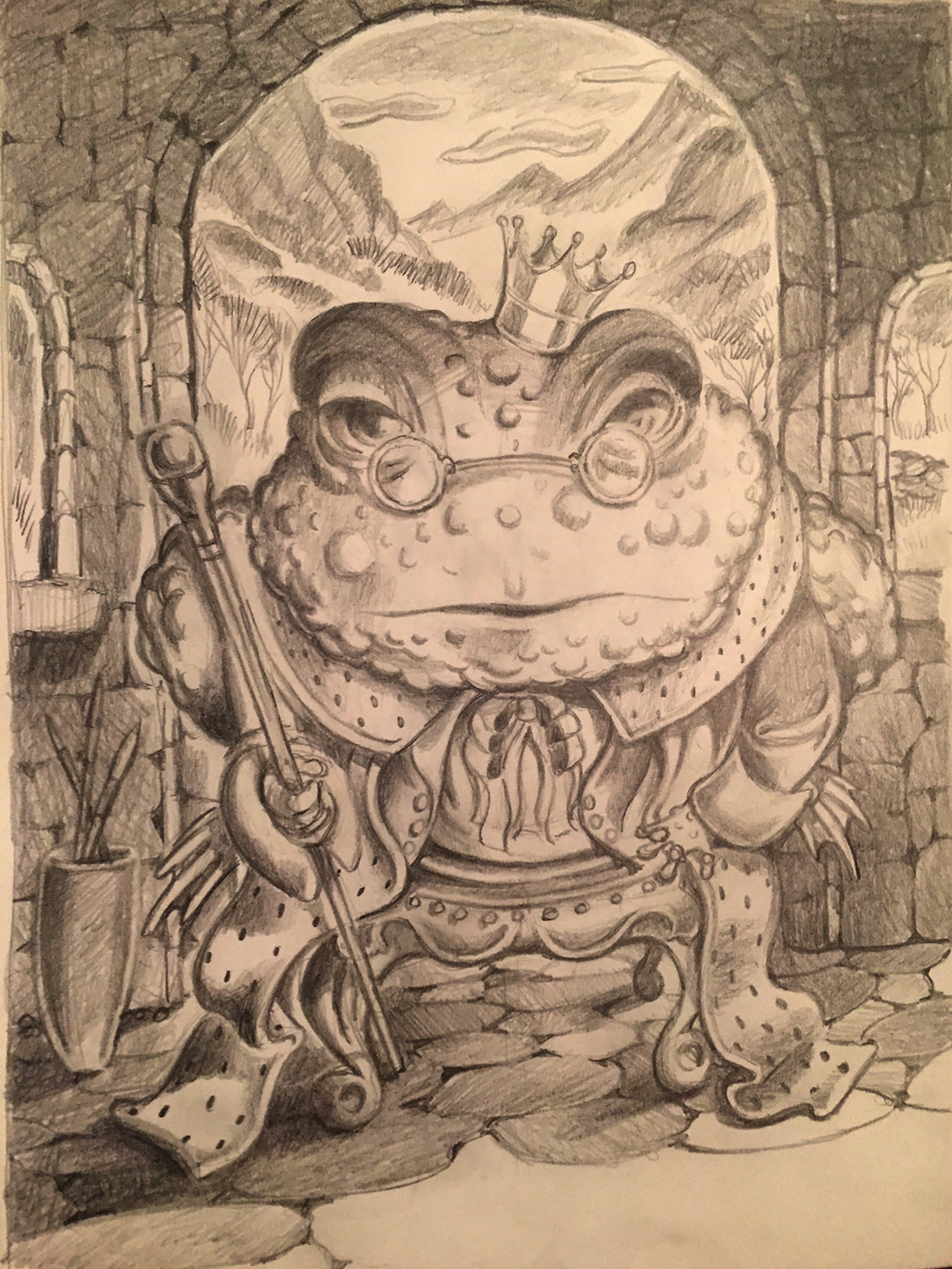 The White Toad King