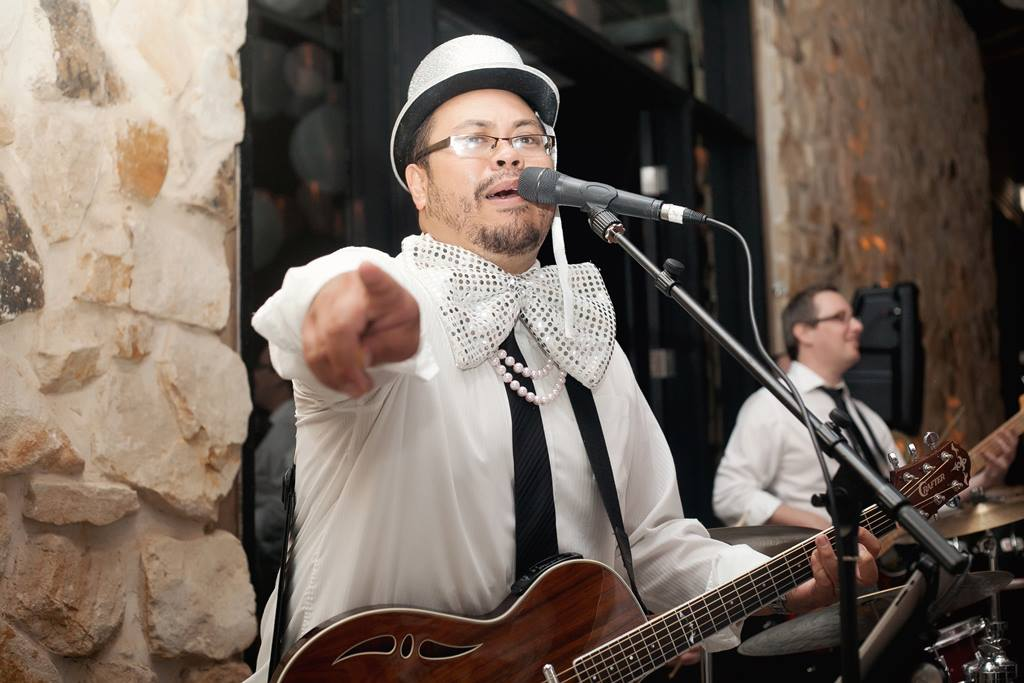 Brian Ruiz soul/funk singer and guitarist