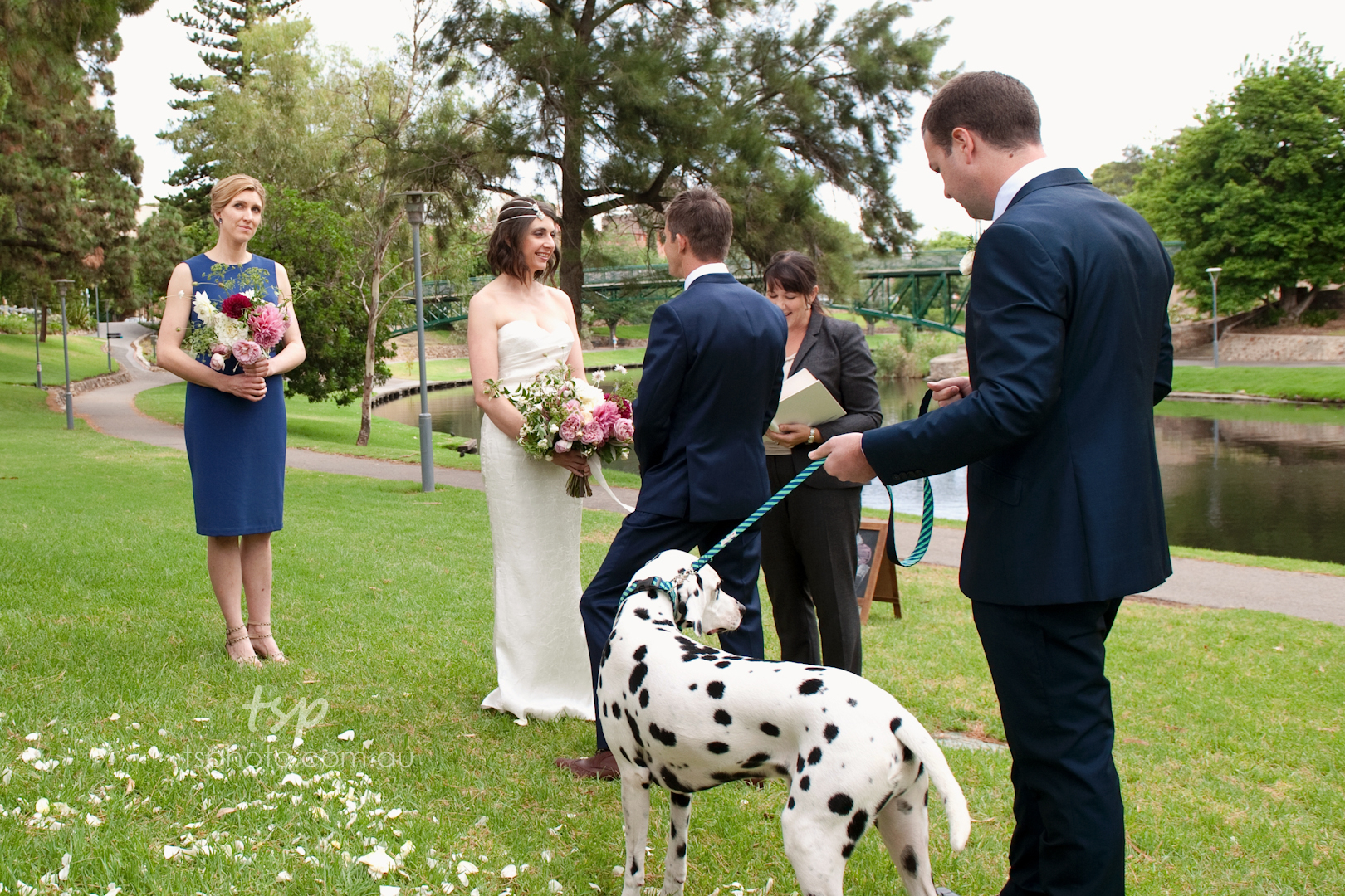 Kim and Will on Ceremonies by Camille blog