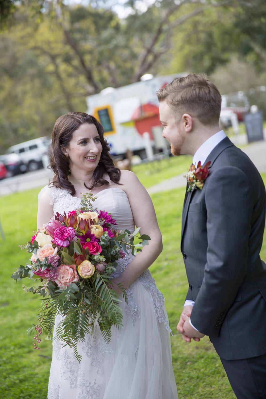 Adelaide wedding celebrant Camille Abbott