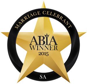 Celebrant Camille Abbott Winner of 2015 ABIA awards