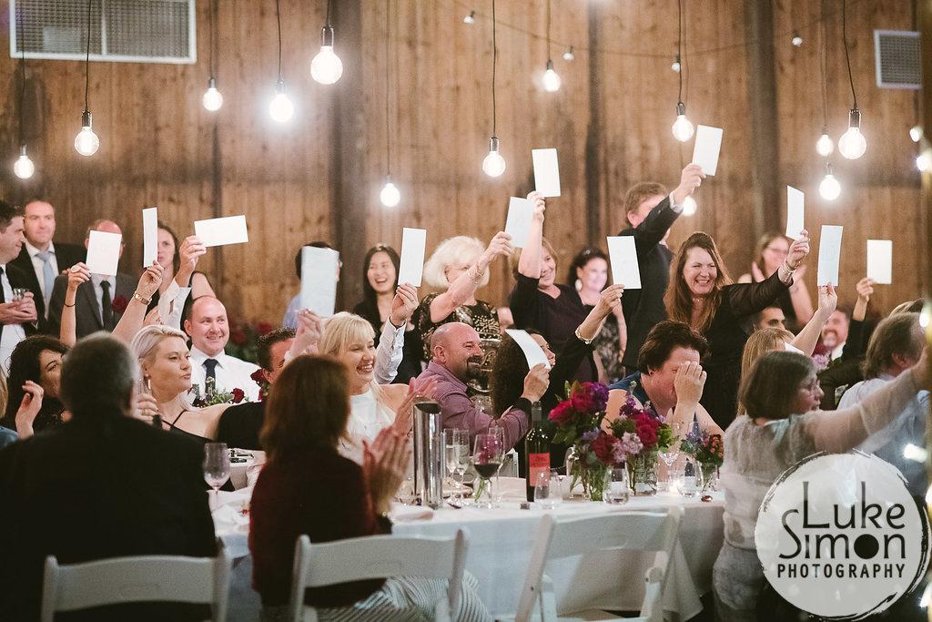 wedding dance score cards