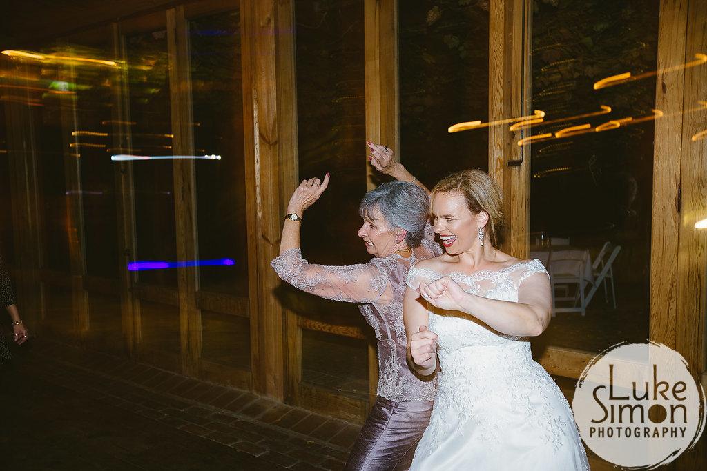 Mother daughter wedding dance