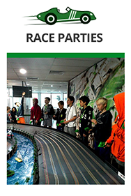 Birthday party or special Occasion? Treat yourself to a super fun Race Party!