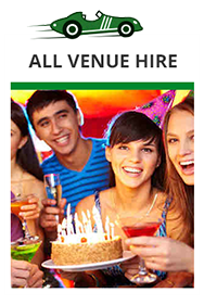 Take over the place - make it your own for that super special Event or party!