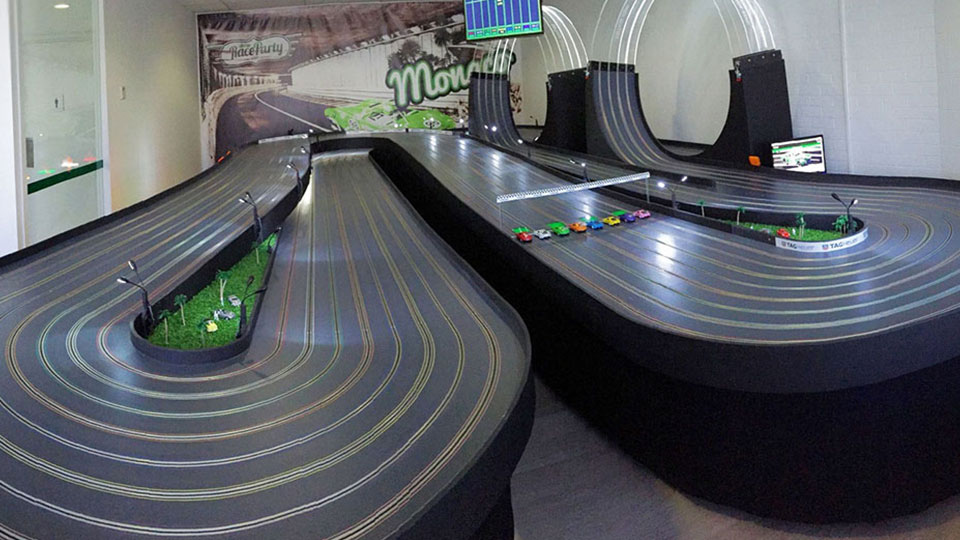 Experience the thrills of racing in Monaco in miniature at Race Party.