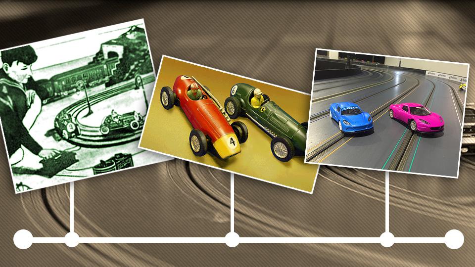 The evolution of slot car racing