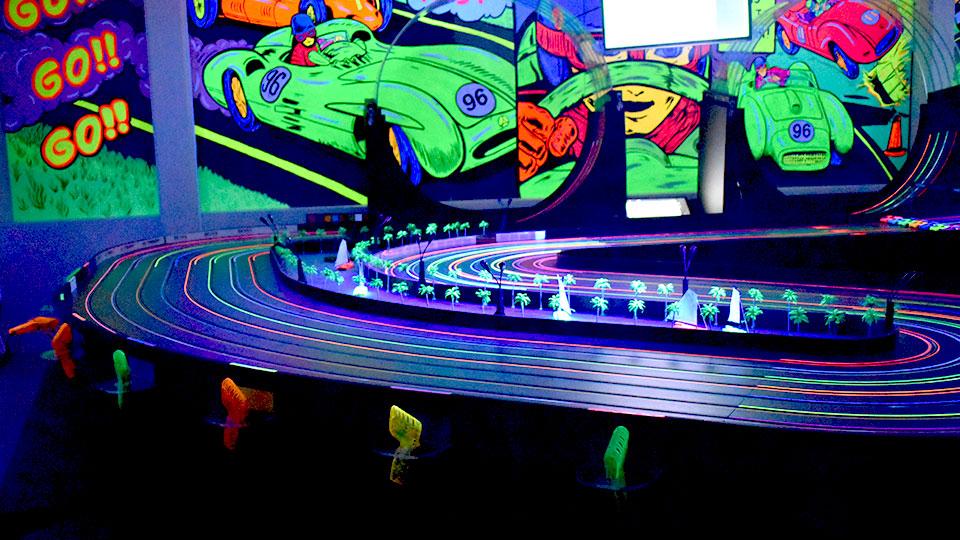 Race Party UV Lights