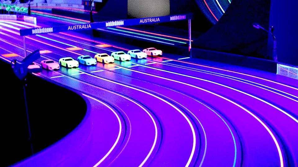 UV Lights on the cars