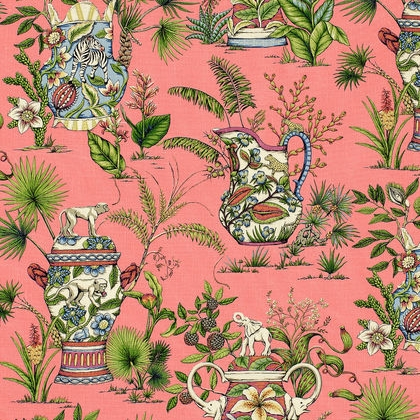 Biscayne Tropical Fantasy F95765 Pink
