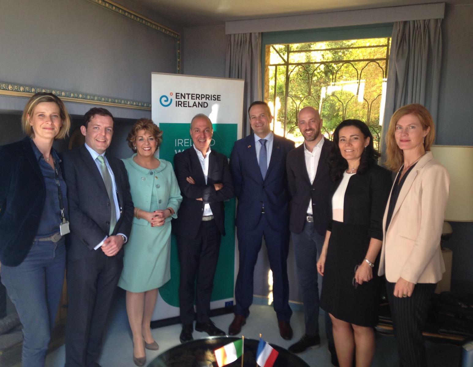 Enterprise Ireland Cannes Minister Ambassador 17 March 2017.jpg