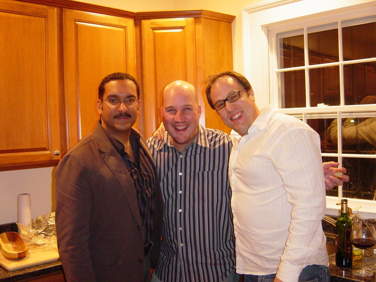 Richard Clark & Paul Umbach in Boston, MA