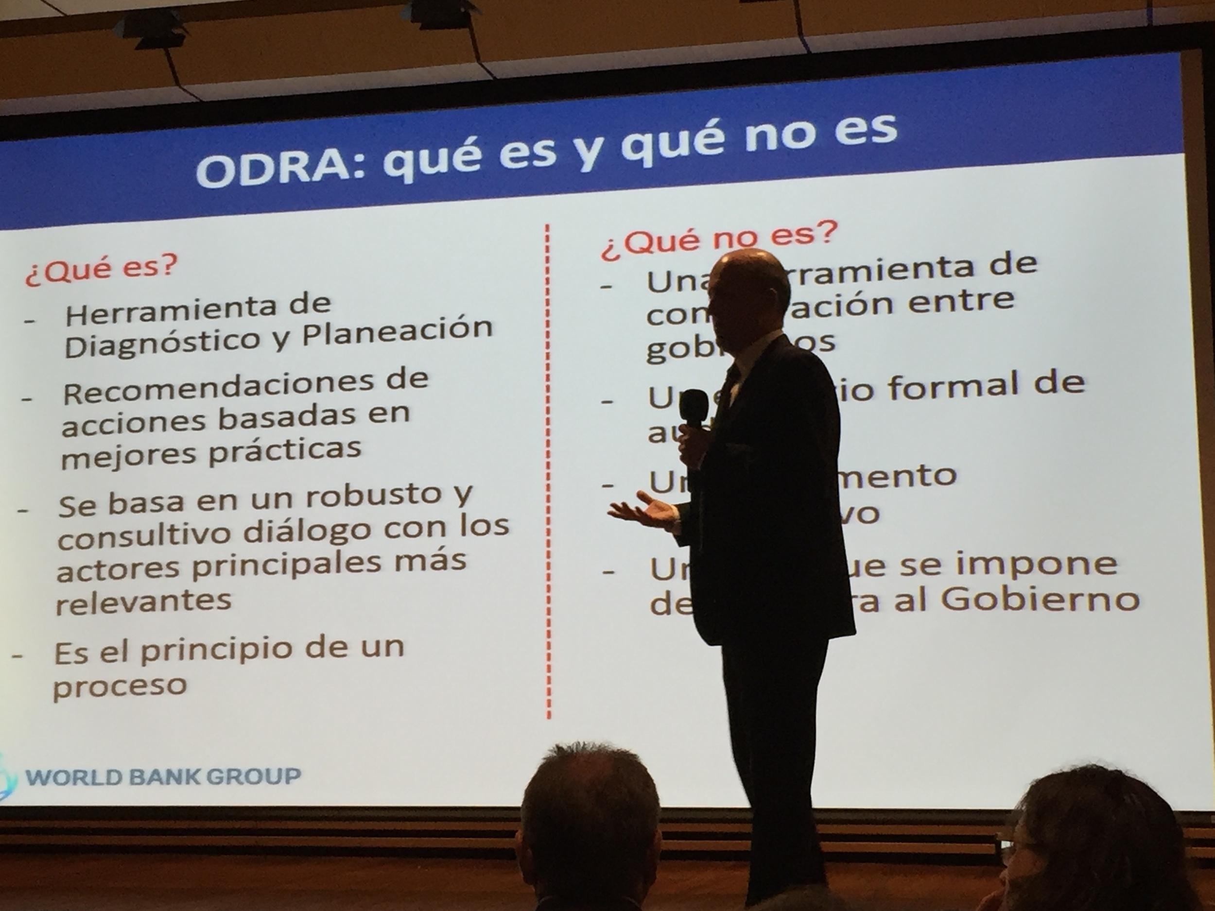 Presentación del Banco Mundial