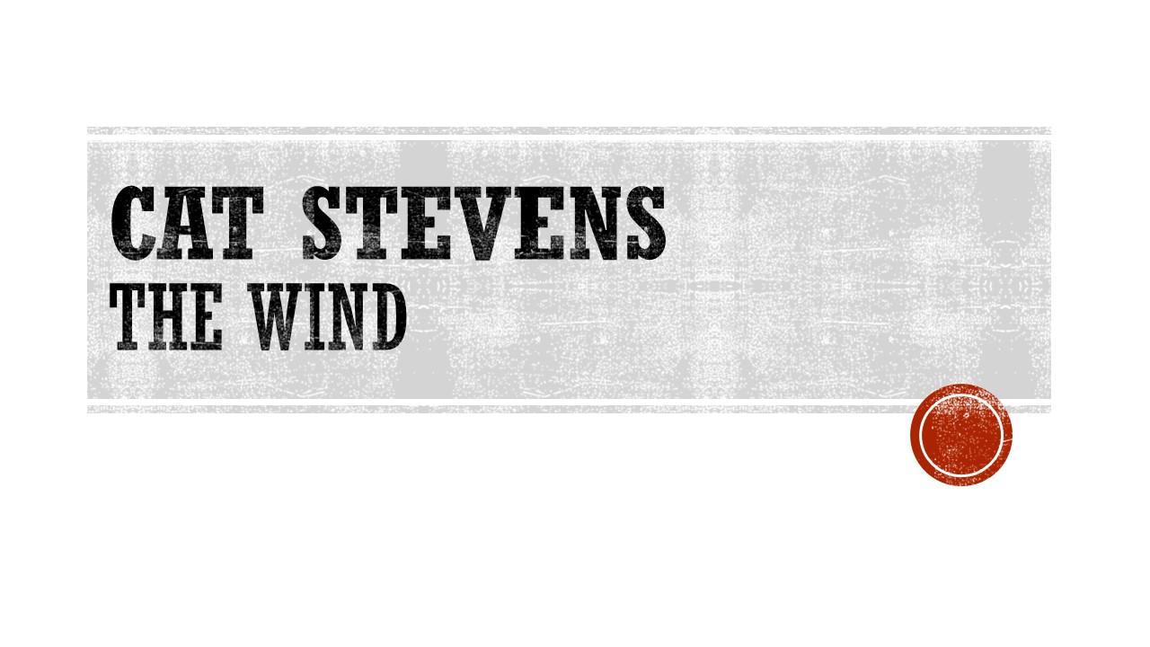 Cat Stevens The Wind.jpg