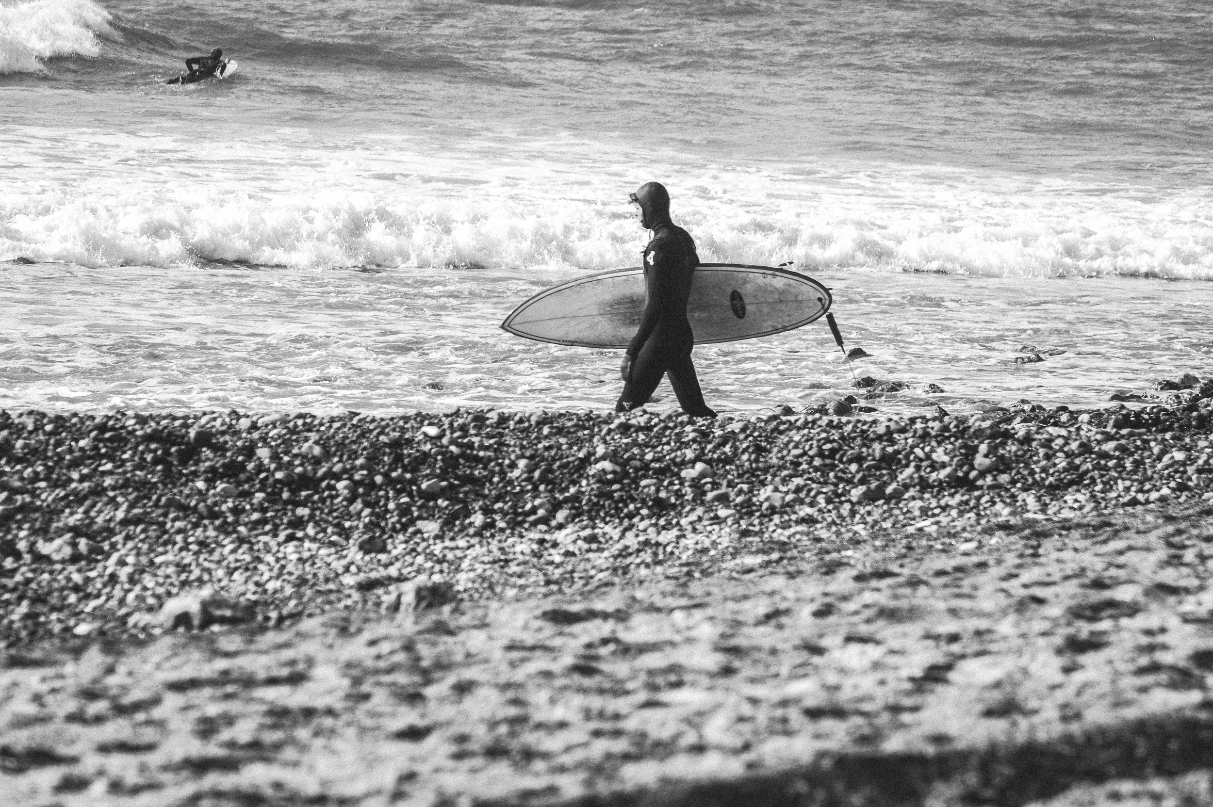 Surfer, Cold Hawaii, Denmark