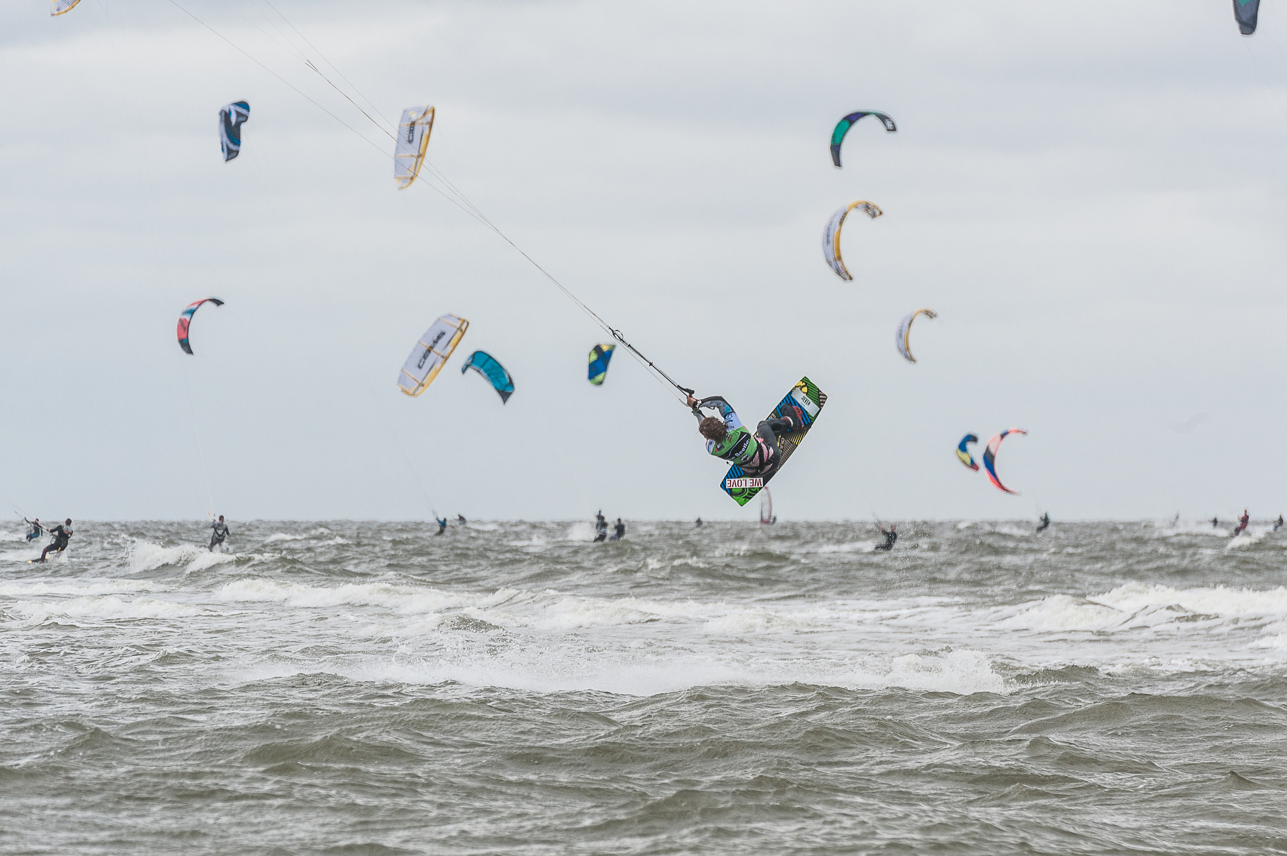 Kite Surf World Cup, St.Peter Ording, Germany