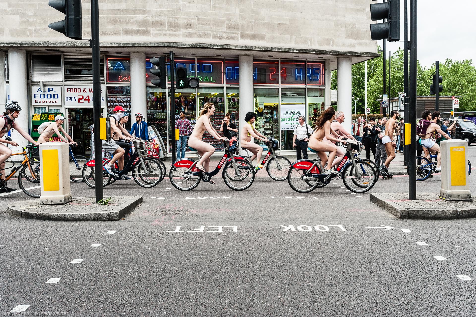 Look Left, London