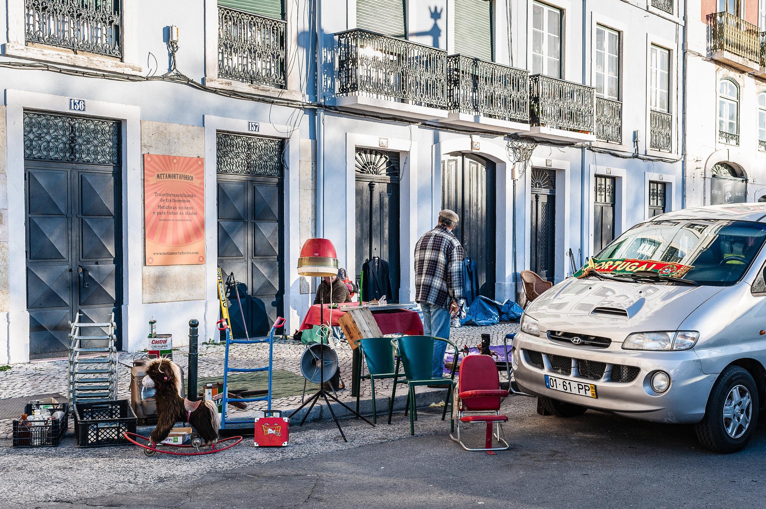 Flea Market, Lisbon