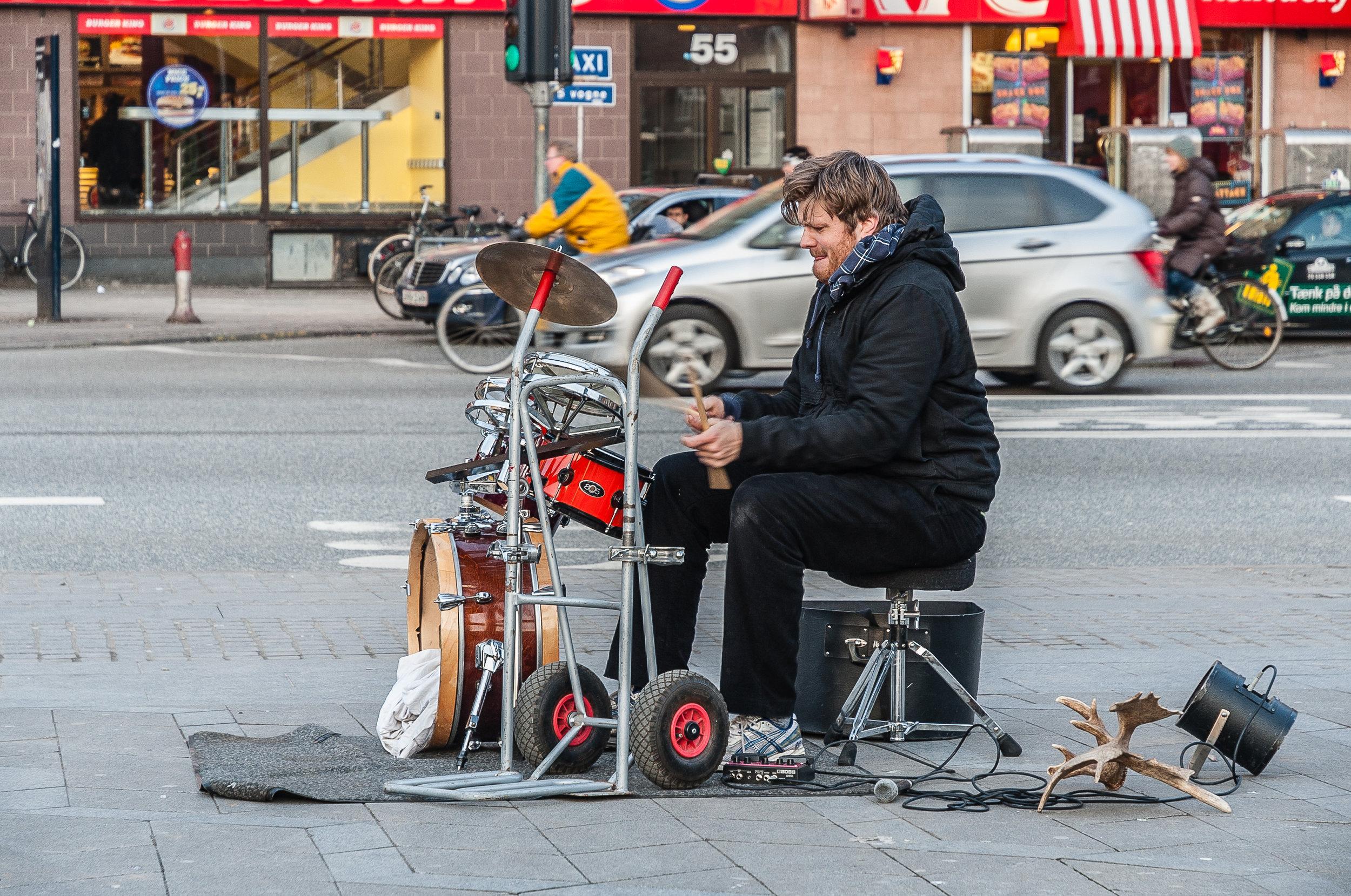 Street Artist, Copenhagen