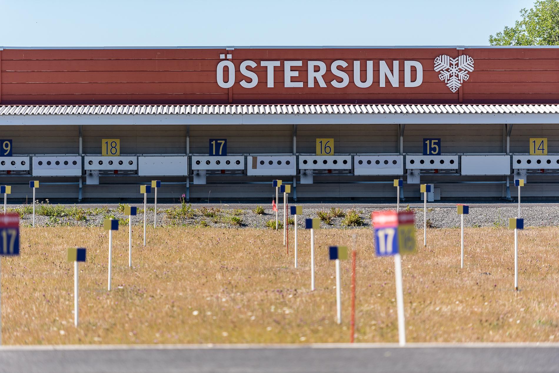 Östersund, Biathlon Stadium, Sweden