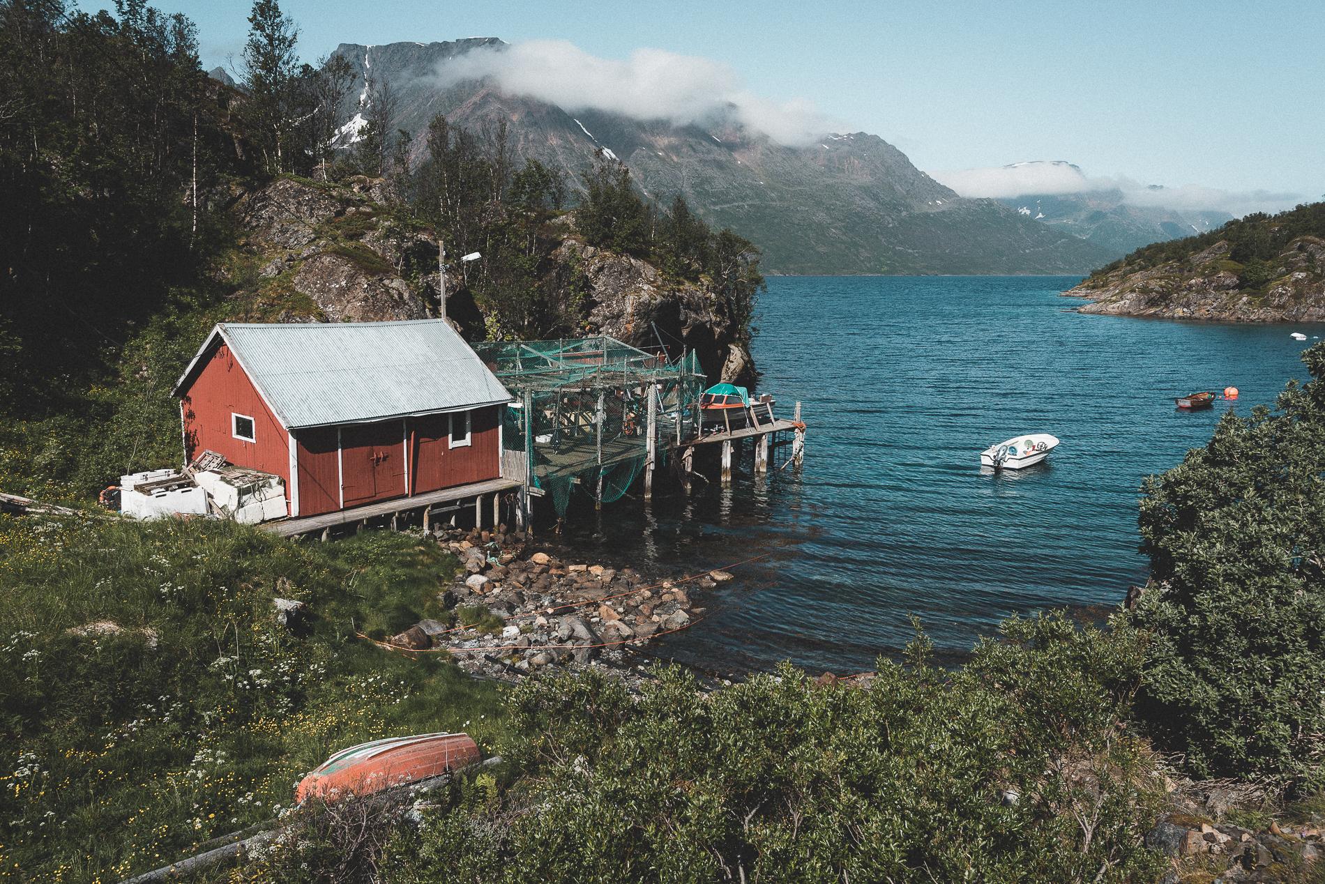 Oksfjordjokelen Fjord, Norway