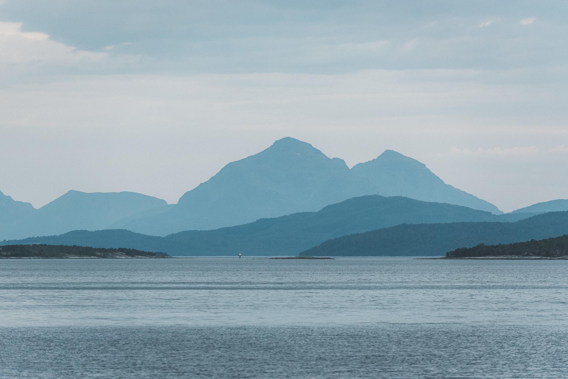 Fjordlines of Blue, Norway