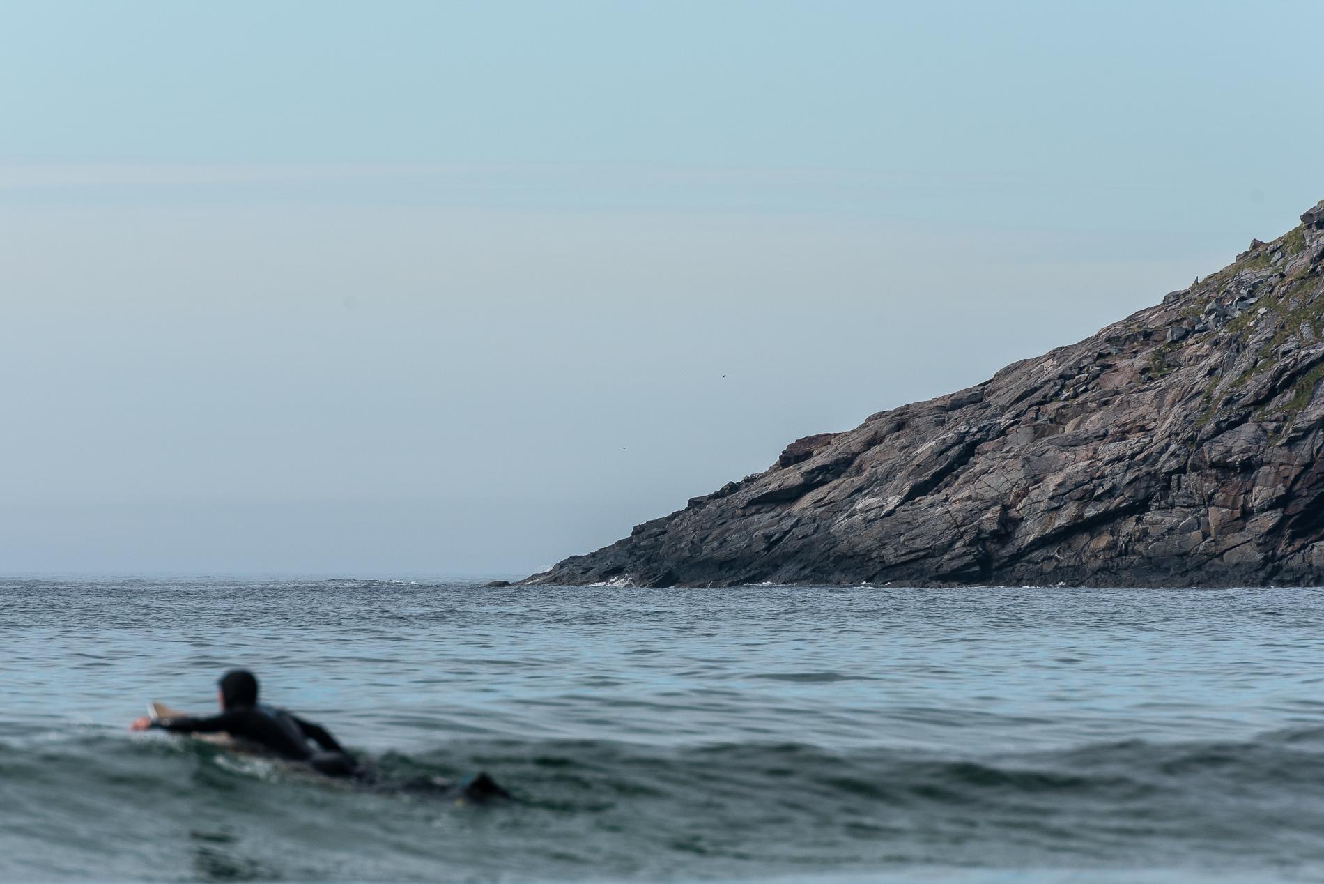 Unstad, Surfer