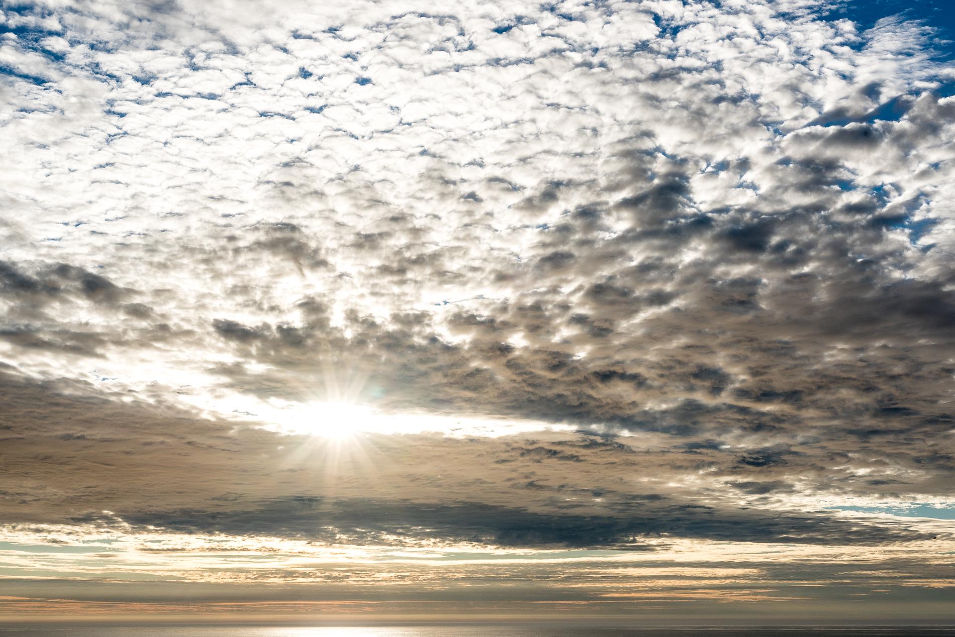Midnight Sun, Unstad , Lofoten, Norway