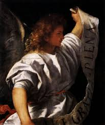 Annunciation Angel by Titian