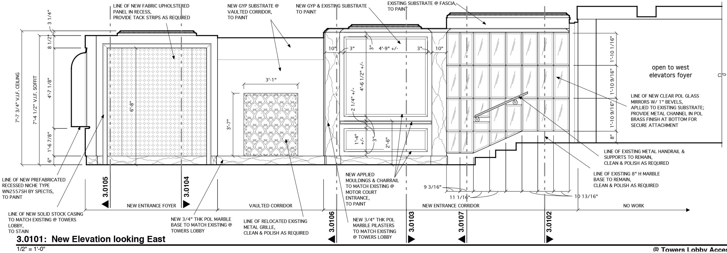 design plans (courtesy of Kenneth E. Hurd & Associates)