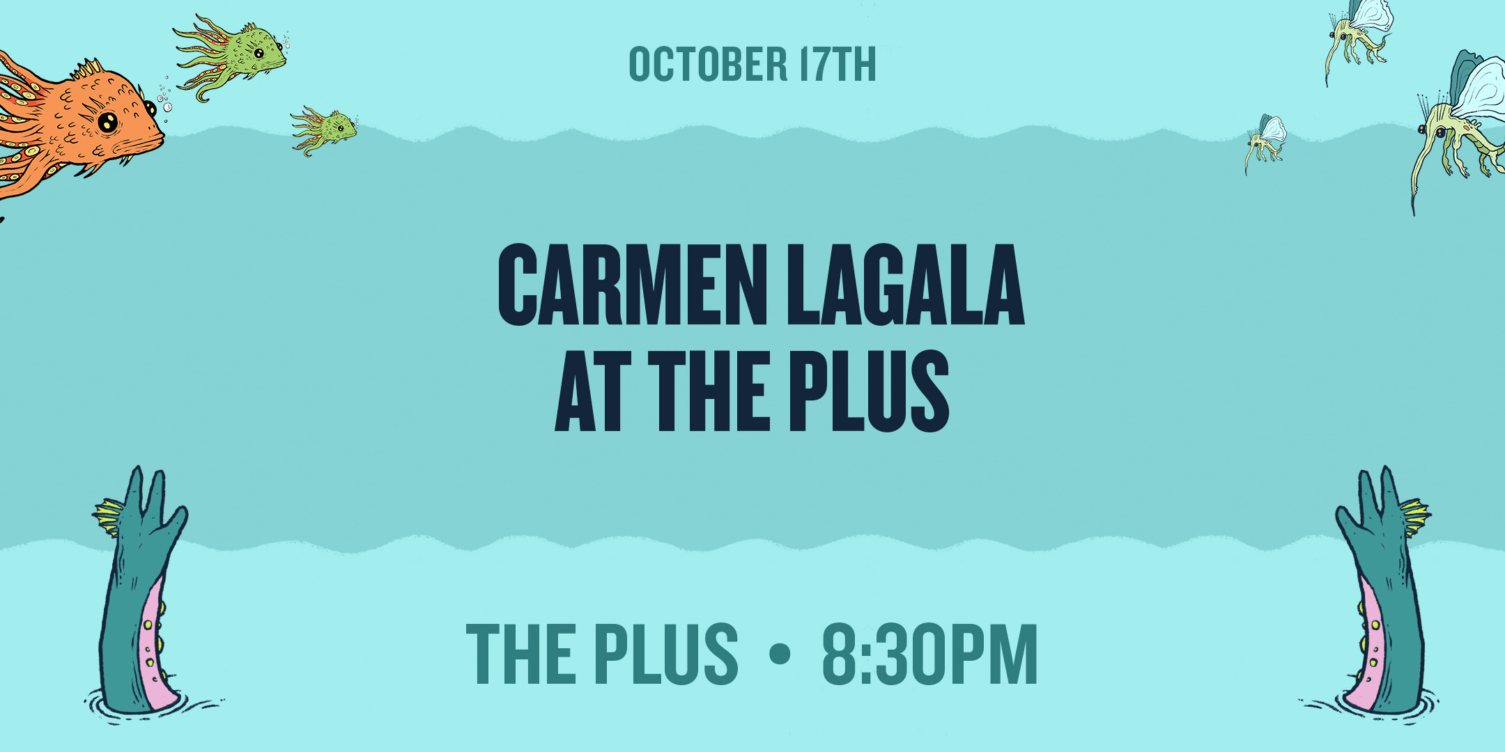 OCT17-Carmen Lagala at the Plus.jpg