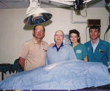 Three generations of Smith vets!