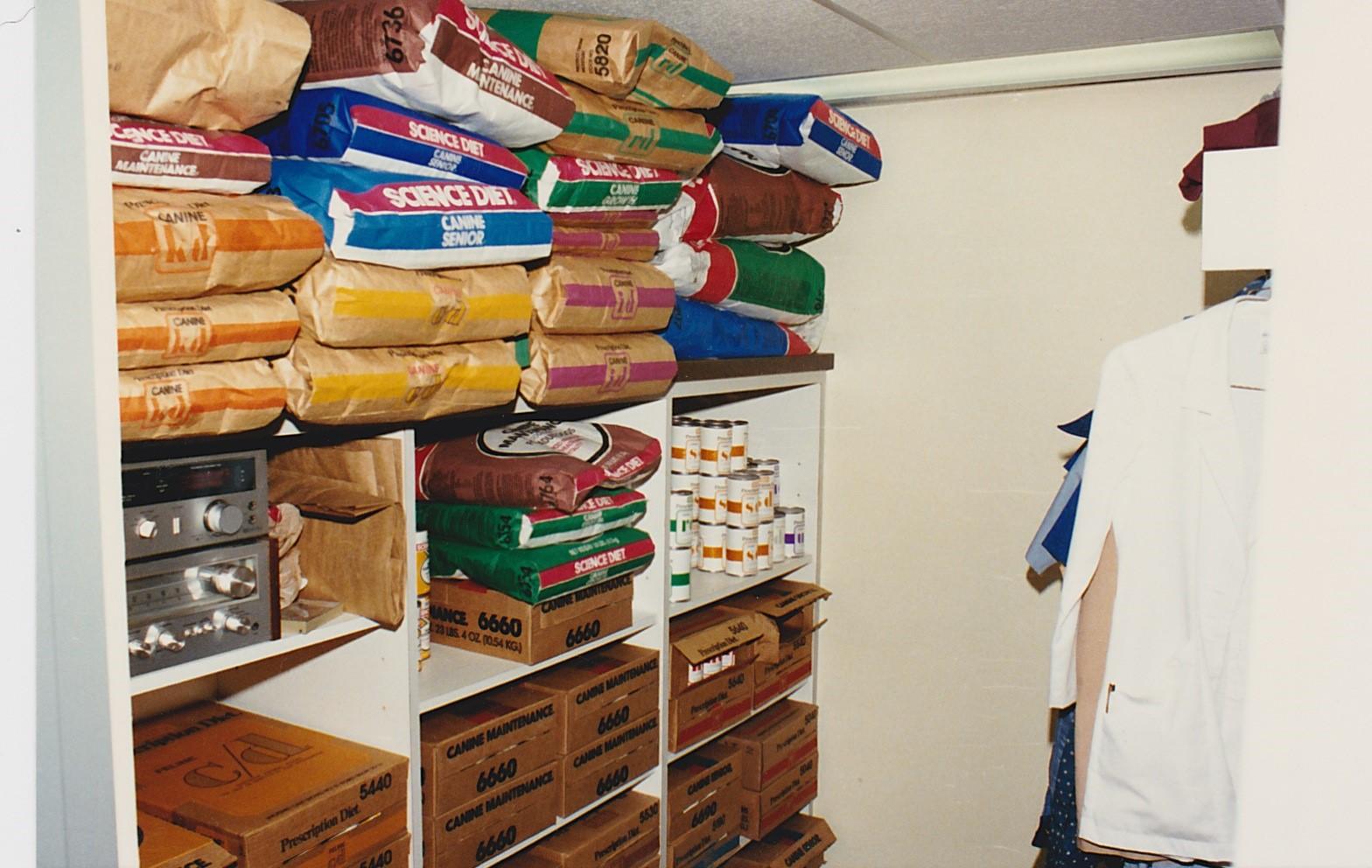 Food and smock storage