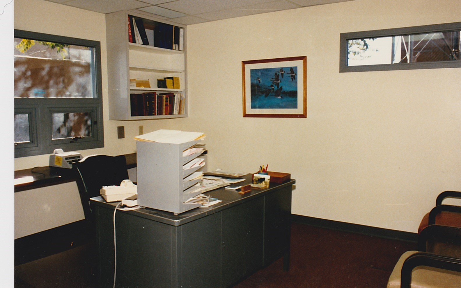 Tom, Mike, and Kathy's office