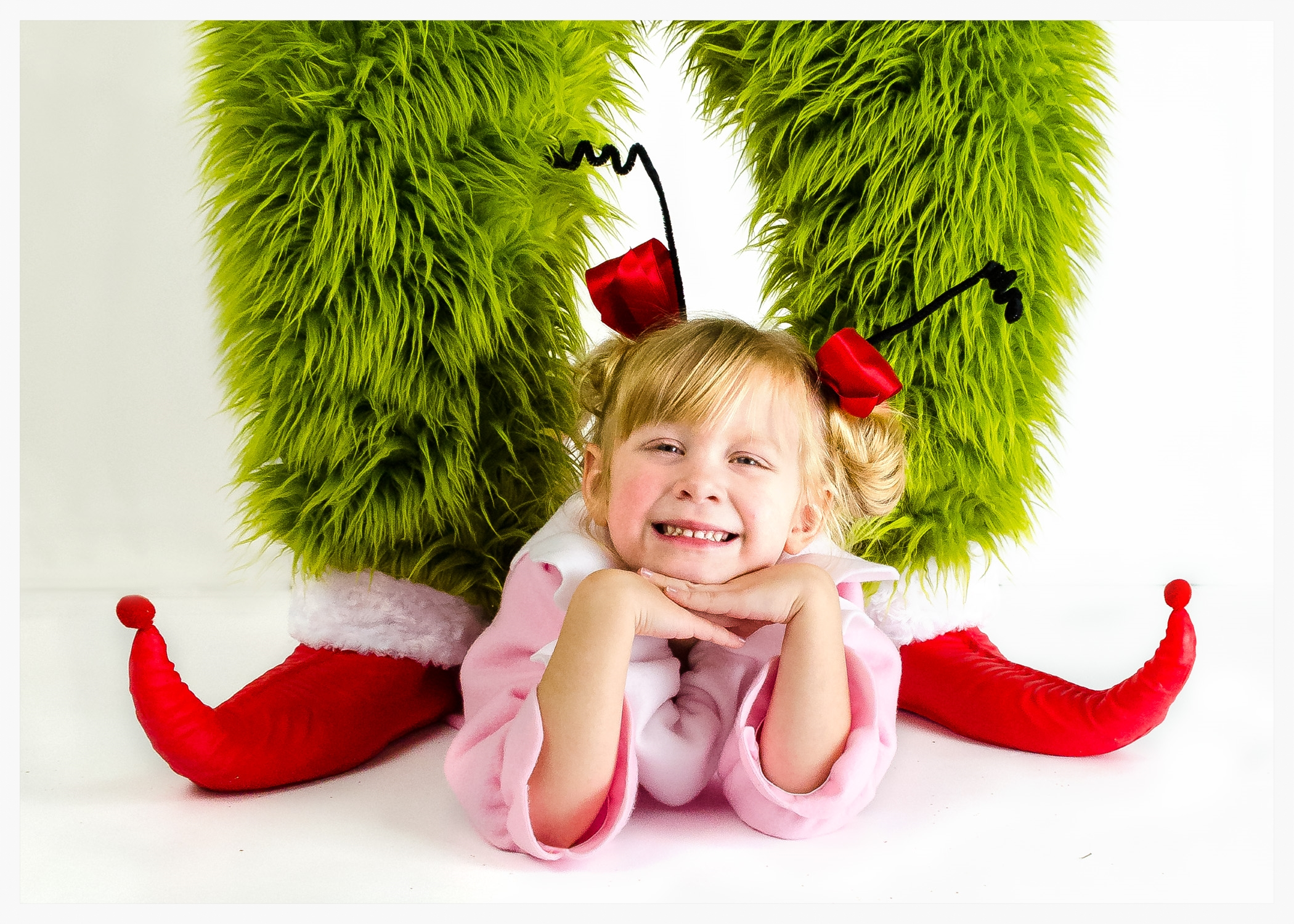 CINDY LOU WHO AND HER PAL, THE GRINCH