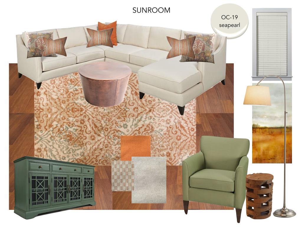 Design Board - Sunroom design