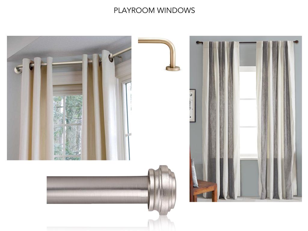 Playroom Window Treatments